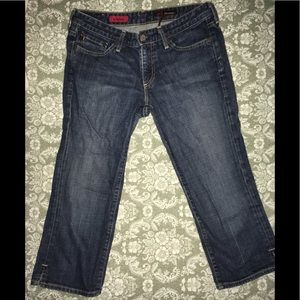 AG Cropped Denim Jeans